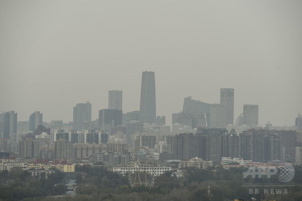 大気汚染アプリに米大使館データの削除命令、北京市