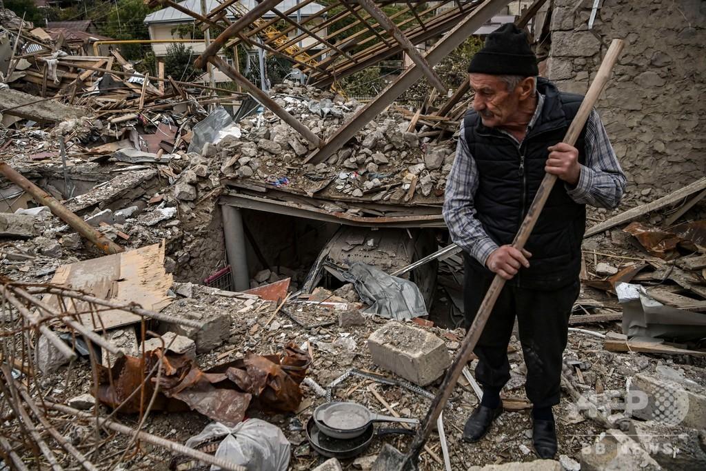 ナゴルノカラバフ、停戦後に新たな爆発 双方が非難の応酬
