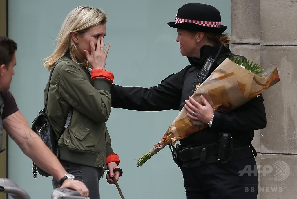 英ロンドン襲撃事件、目撃者が語る惨状