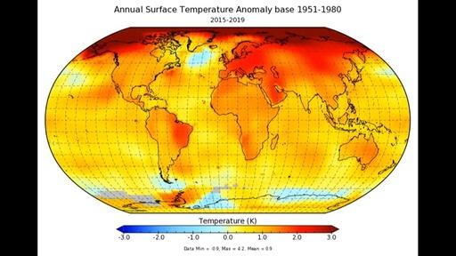 動画:過去10年間の平均気温、観測史上最高 異常気象の増大懸念 国連