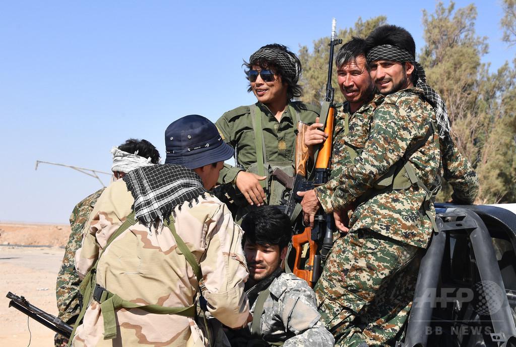 国際ニュース:AFPBB Newsイランがシリアに送ったアフガン人義勇兵、2000人以上戦死
