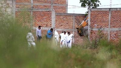 動画:メキシコ西部に集団墓地、当局が遺体16体収容