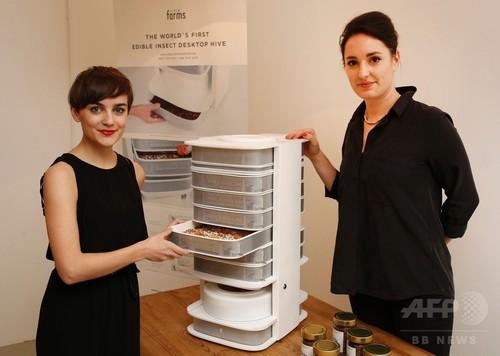 台所で育てた幼虫を食べる「食の革命」到来?オーストリア