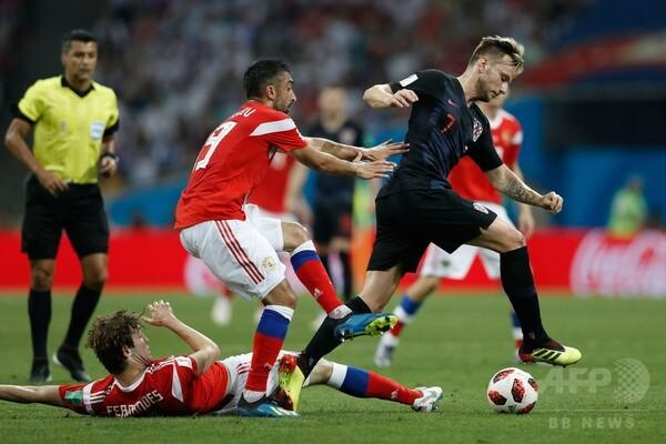 【写真特集】開催国とのPK戦を制してW杯8強、ロシア対クロアチア
