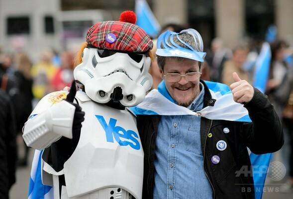どうなるスコットランド独立、住民投票開始