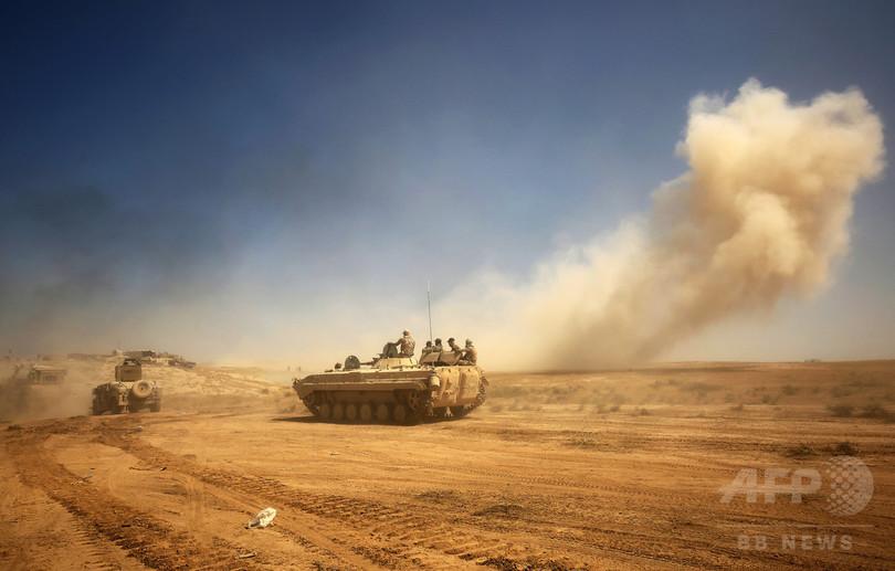 イラク・タルアファル奪還作戦、取り残された民間人は3万人 国連