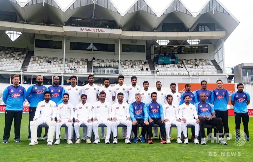 クリケットのバングラデシュ代表、NZ銃乱射事件に遭遇も難逃れる