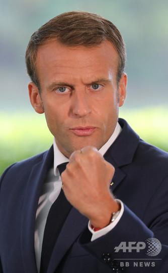 成長鈍化と支持率低迷のフランス、大幅減税を発表