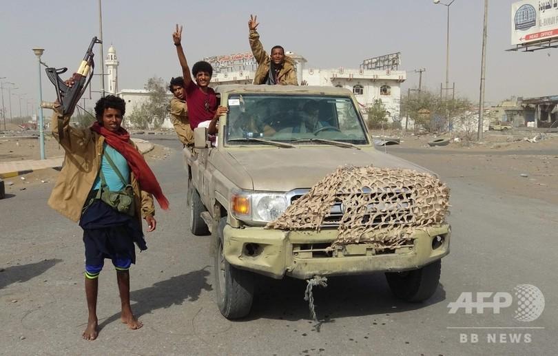 イエメン内戦、ホデイダで停戦発効も数分後に戦闘発生