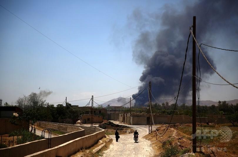 米特殊部隊が急襲作戦、IS幹部殺害 シリア