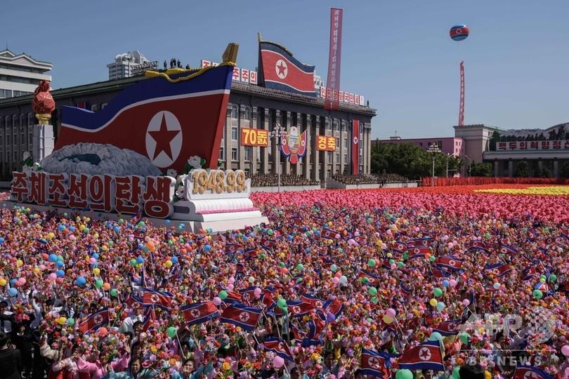 北朝鮮で建国70年、横断歩道で泳ぐイルカ 、訪仏中の皇太子さま、ネット通販時代、冷静さと心の優しさ