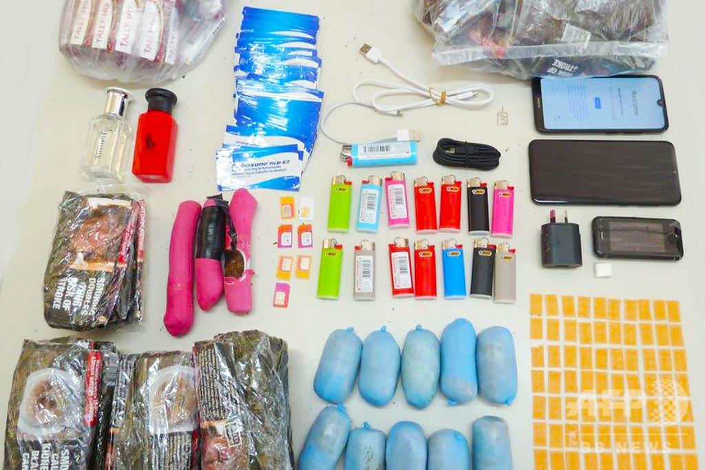 豪刑務所に薬物隠した郵便物が急増、感染防止で面会中断の中