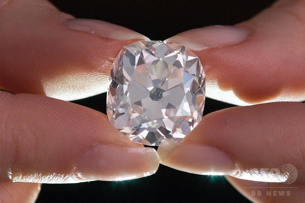 フリマで購入のダイヤが5000万円に? 本物と鑑定、英で競売へ