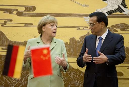 独首相が訪中、経済関係強化 VWは工場新設 ヘリ大量受注も