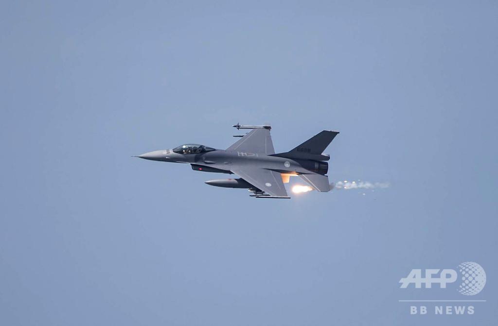 中国軍機が台湾防空圏に進入、5日間で4回目 台湾は緊急発進