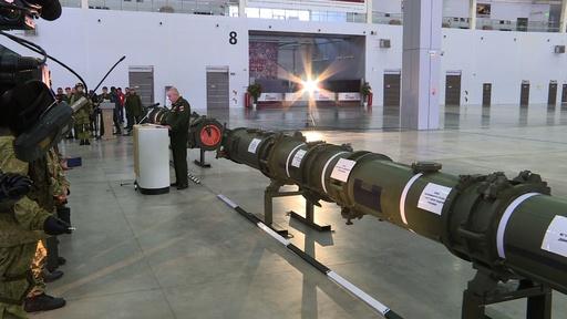動画:ロシアが巡航ミサイル公開 INF条約の存続目指す