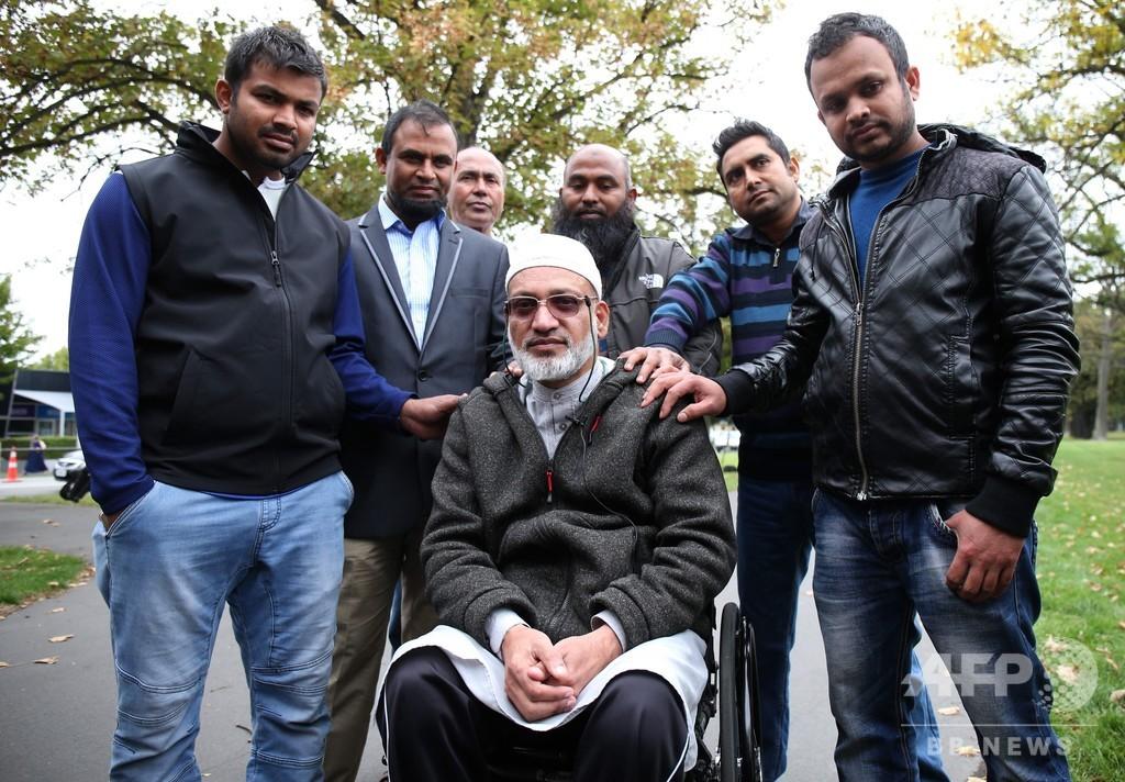 NZモスクの銃乱射で妻を殺された男性、「銃撃犯を許す」