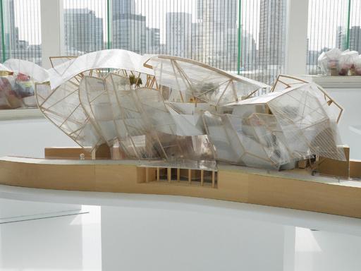 パリ・北京を経て東京へ、フォンダシオン ルイ・ヴィトン 建築展17日から