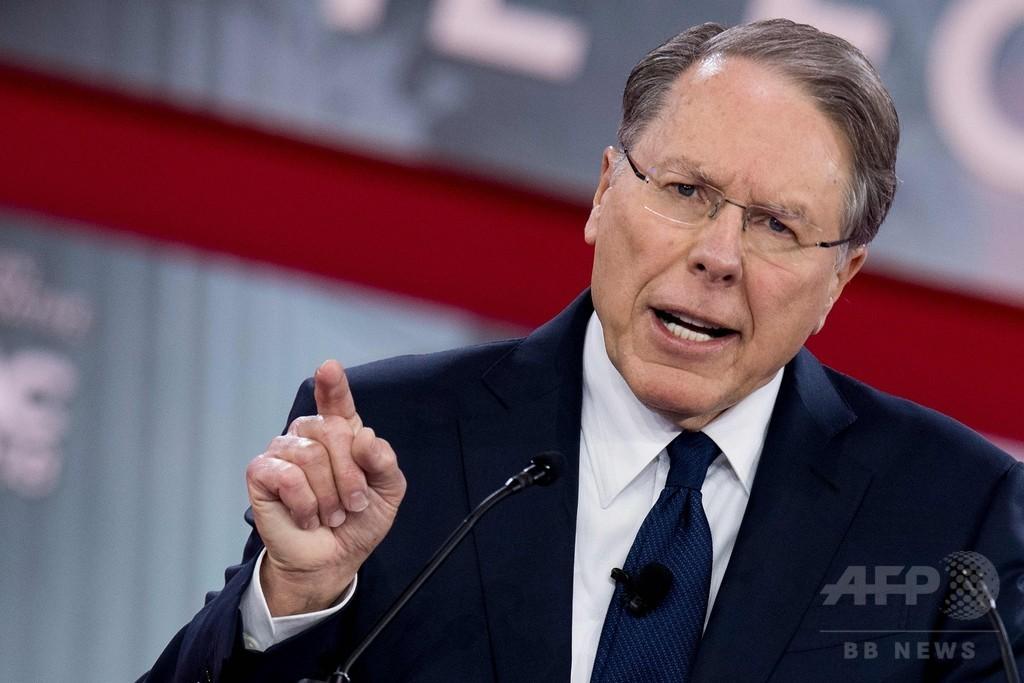 乱射事件の「恥ずべき政治問題化」を非難 全米ライフル協会