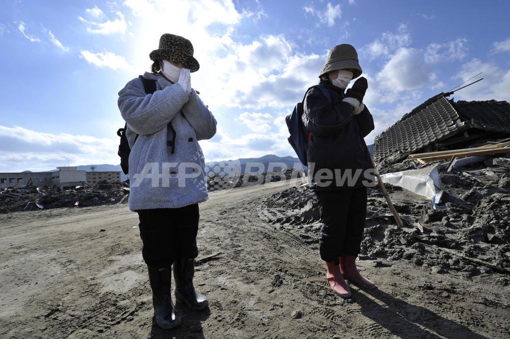 【写真特集】震災から1週間、避難生活・捜索活動続く
