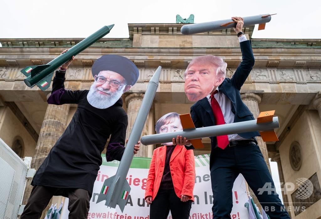 イランの最高指導者は「言葉に十分気を付けるべき」 トランプ氏がツイート