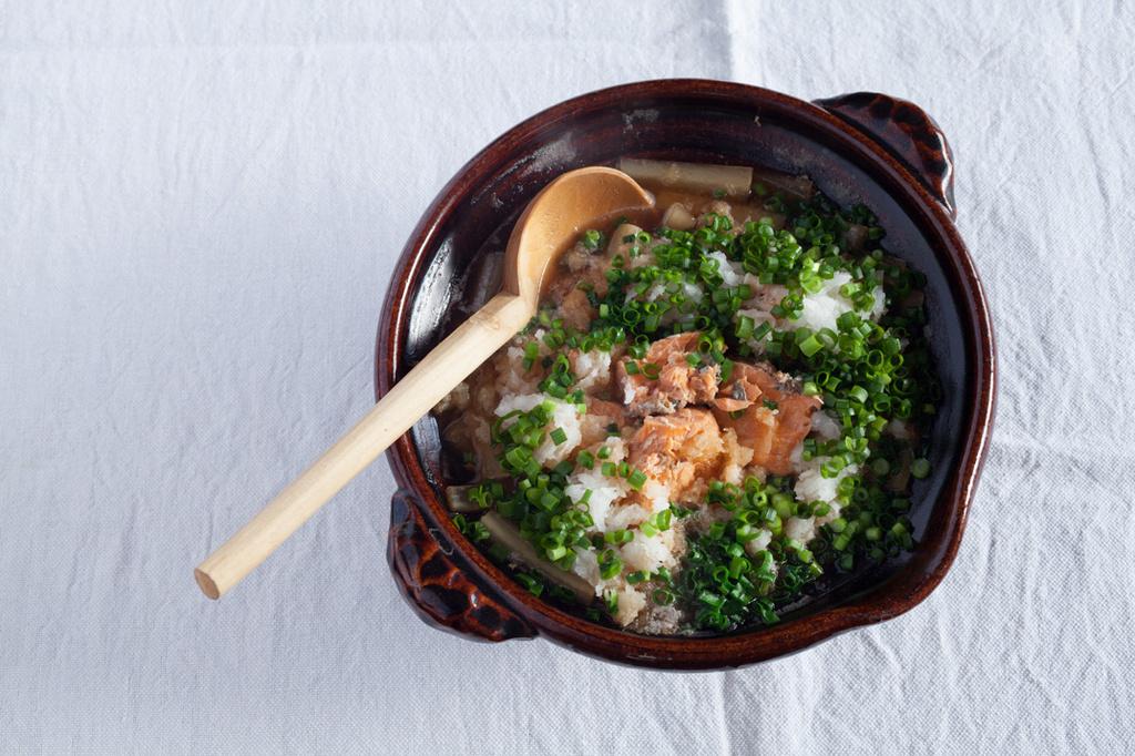 <La Cuillère de marie claire style>第10回 大根と鮭缶の鍋