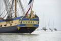 米独立戦争支援の仏帆船、復元され大西洋へ