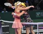 ボズニアツキがラドワンスカ破り2連勝、WTAツアー選手権