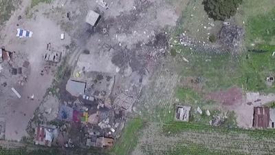 動画:メキシコで花火倉庫爆発 救助要員含む24人死亡、49人負傷