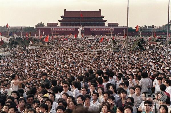 中国紙、天安門事件での政府の対応を擁護「政治的混乱への免疫力与えた」
