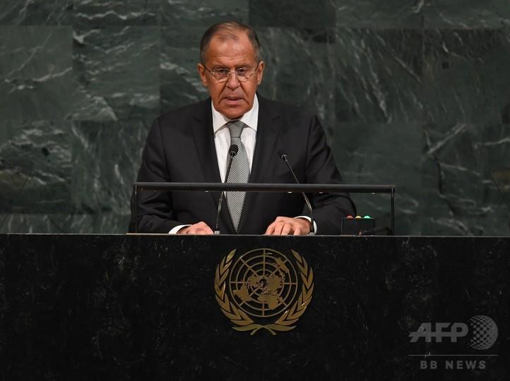 米朝首脳の応酬は「園児のけんか」 ロシア外相