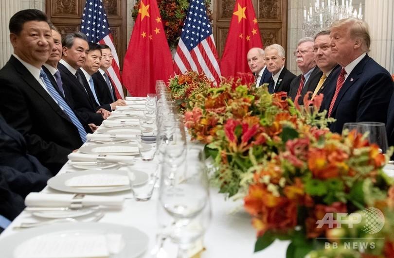 米中、追加関税拡大延期で合意 90日間