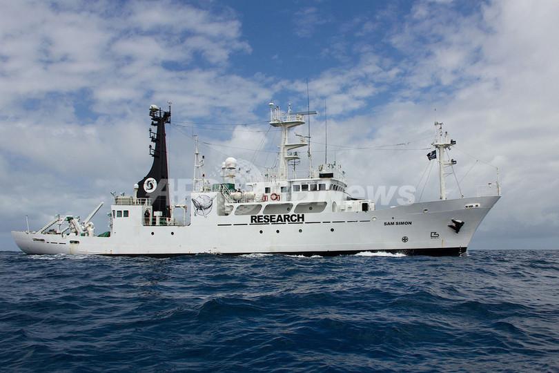 シー・シェパード、新たな妨害船を公開
