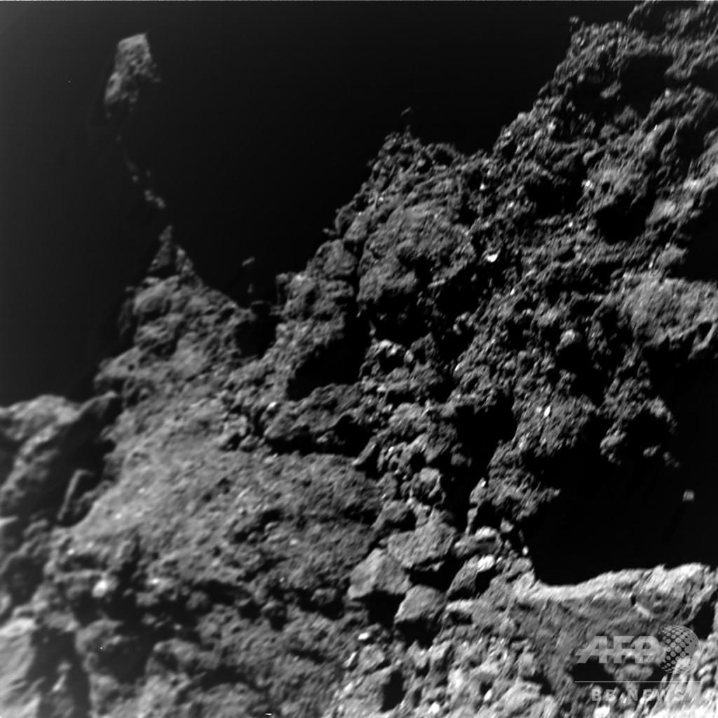 小惑星リュウグウ着陸機の最新画像、惑星形成解明への手掛かりに