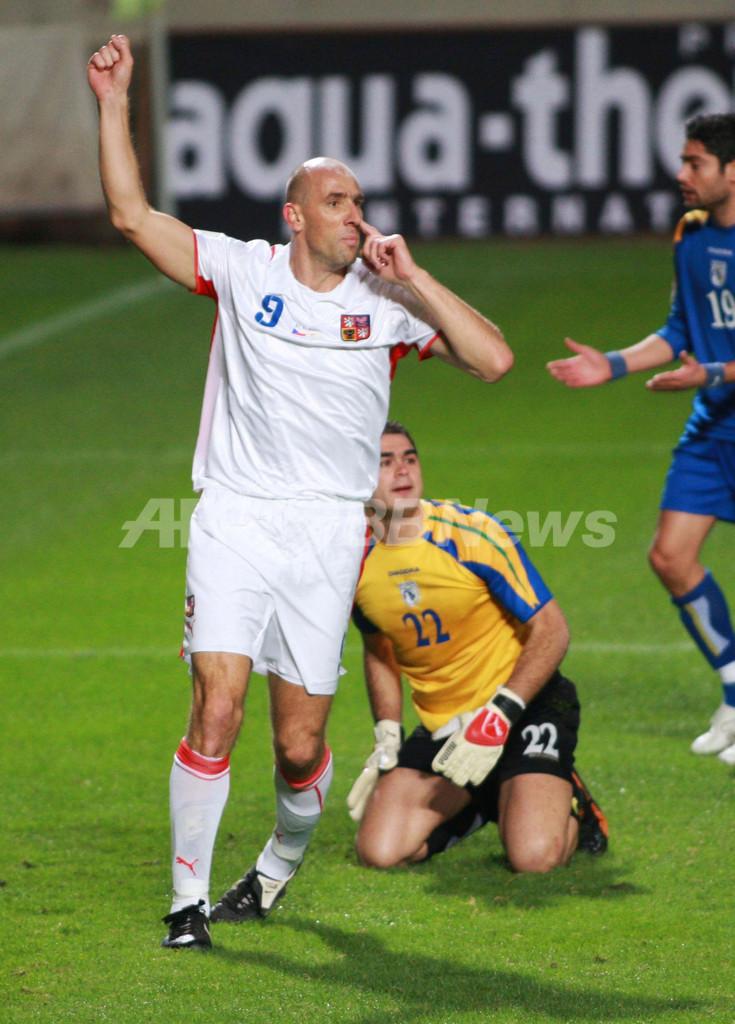 <サッカー 欧州選手権2008・予選>チェコ キプロスを降しグループ1位で本大会へ