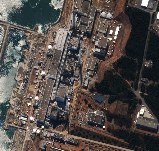 原発付近の海水から基準値上回る放射性物質