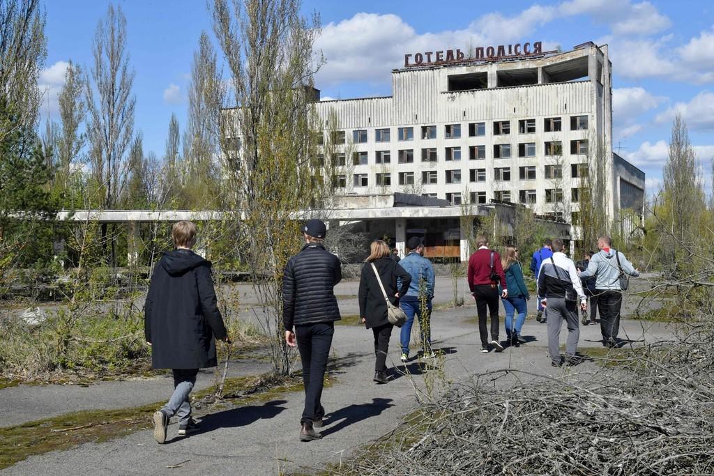 チェルノブイリ原発事故から32年、ツアー人気で訪問者増 ウクライナ