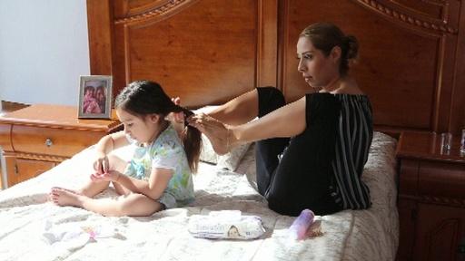 動画:両腕がなくても…デザイナーとして、母としてしなやかに生きる メキシコ