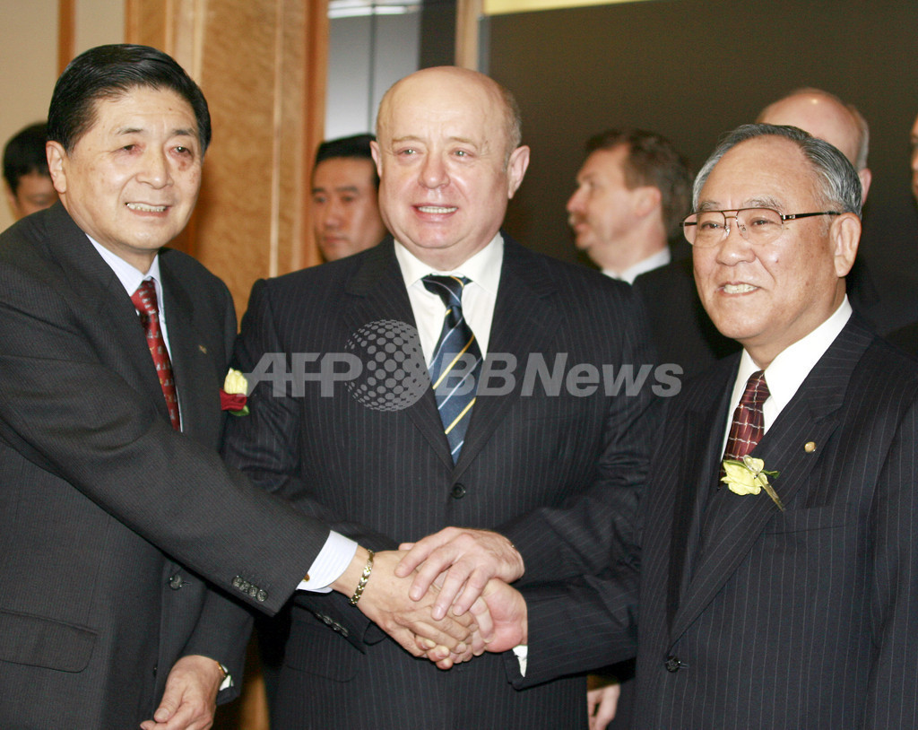 ロシア首相、経団連幹部と会談、エネルギー供給国としての信頼性を強調 - 東京