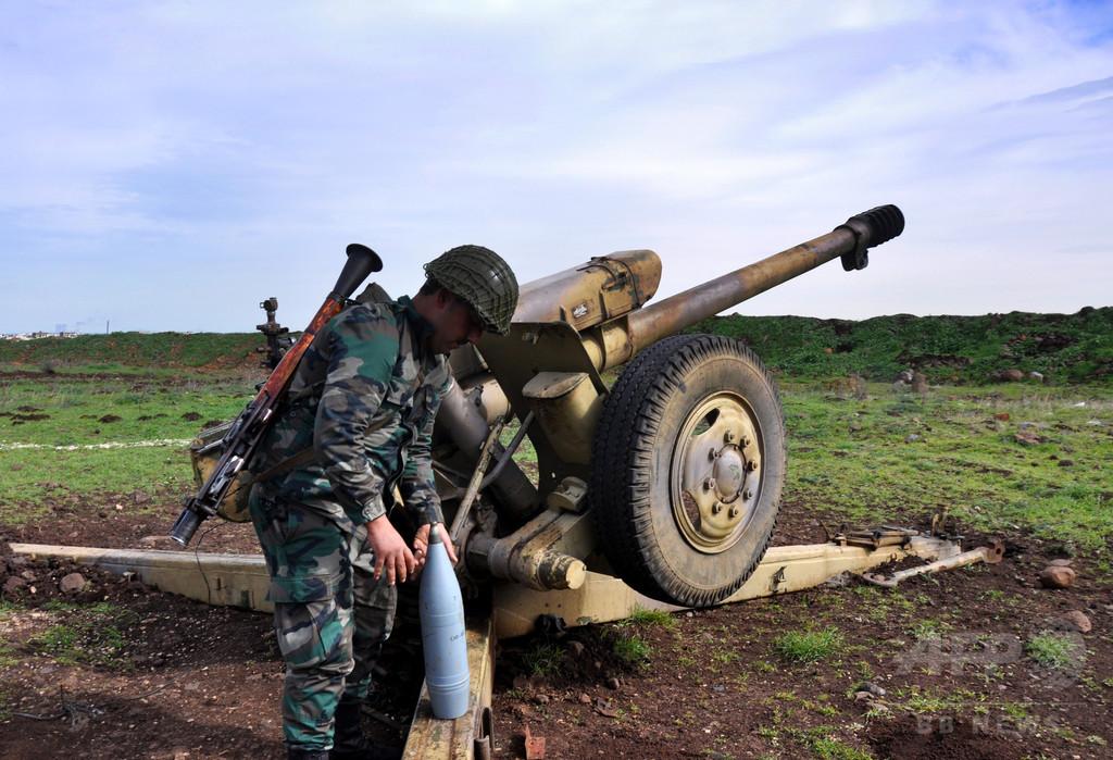 シリア政府軍が「組織的レイプ」、男性や少年も標的 国連が非難