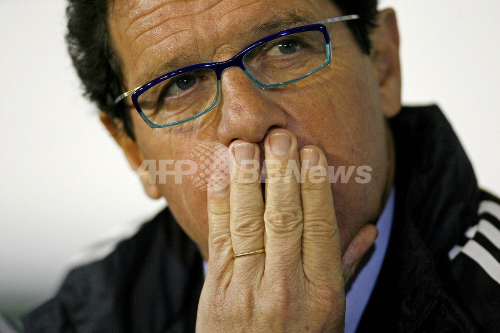 ファビオ・カペッロ氏のイングランド代表監督への就任が決まる