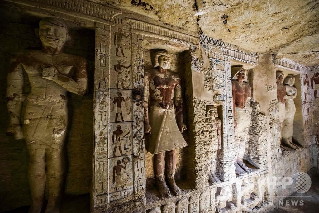4400年以上前の聖職者の墓発見、エジプト古代都市サッカラの遺跡