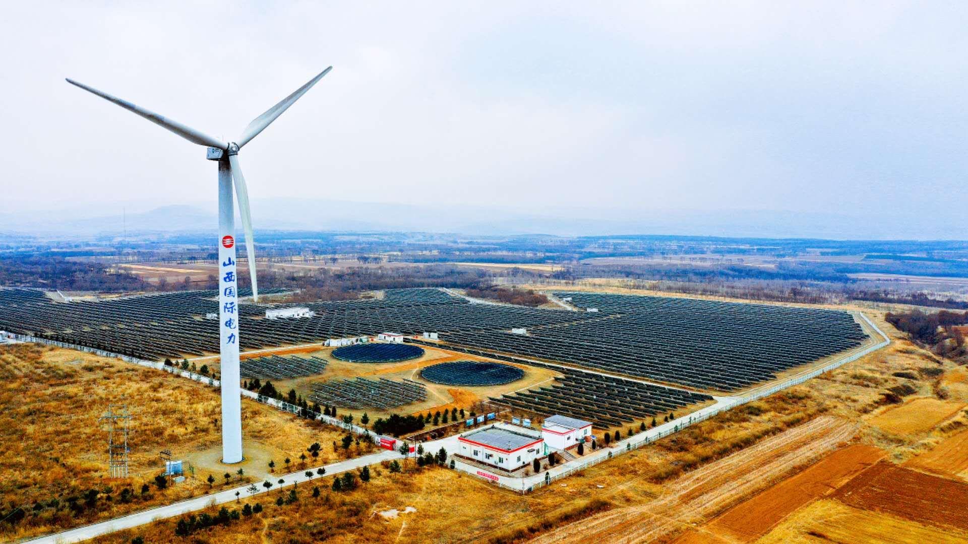 中国の風力発電量、上半期は前年比10・9%増