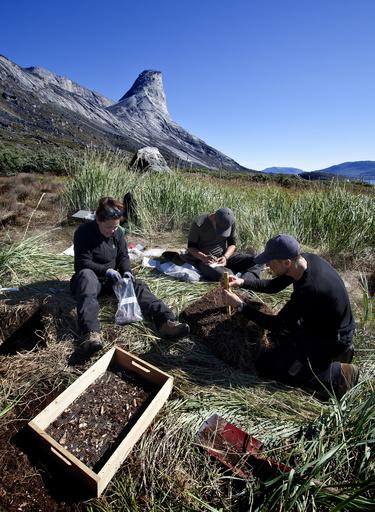 グリーンランドの遺跡、温暖化で遺物消失の恐れ 研究