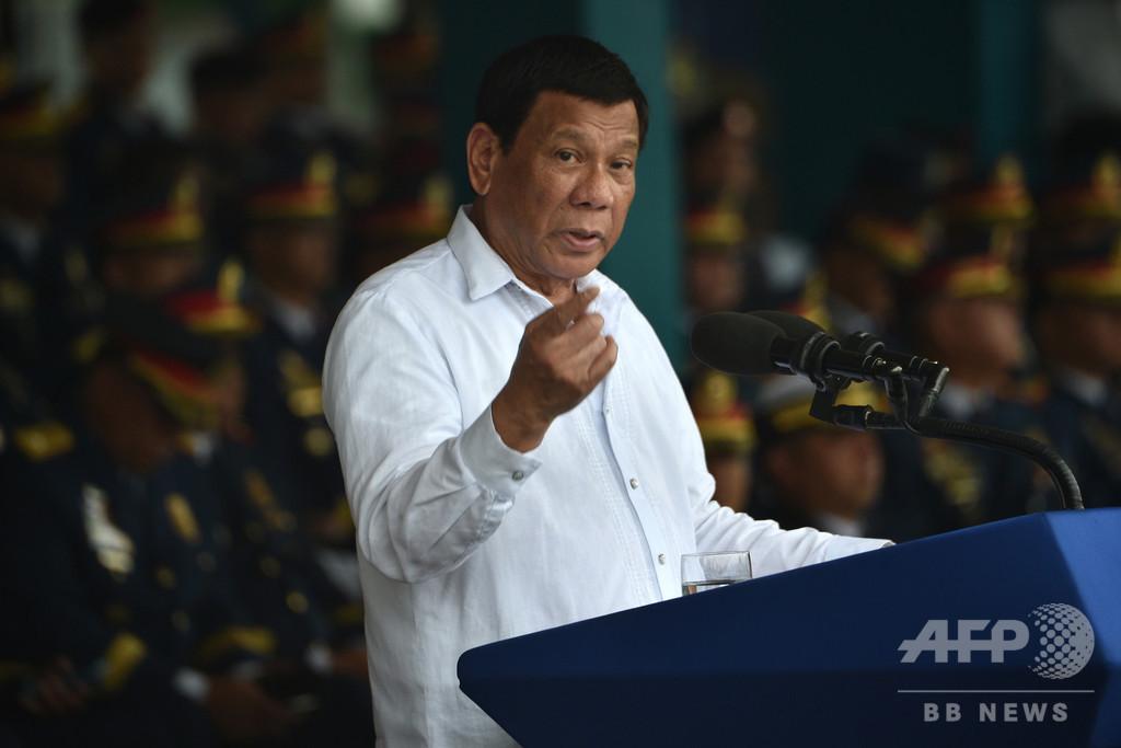 フィリピンで町長射殺、ドゥテルテ大統領の「麻薬容疑者リスト」に記載