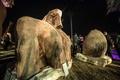 エジプト・カイロで発見の古代巨像、プサメティコス1世のものか