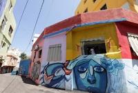 内戦で荒廃した街にアートで光を レバノン