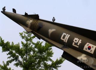 韓国、射程800キロのミサイル発射実験に成功 北全域が射程