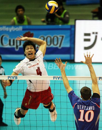 日本 ロシアにストレートで敗れ3敗目を喫す