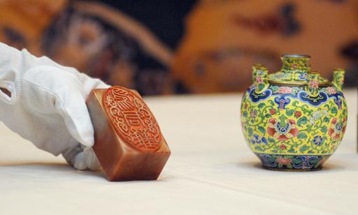 台湾と中国、2つの故宮博物院による合同展が台北で